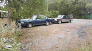 1989 and 1992 Volvo 240 Sedan $800 for both!!