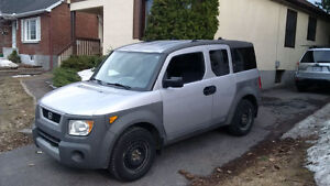 2003 Honda Element Silver SUV, Crossover
