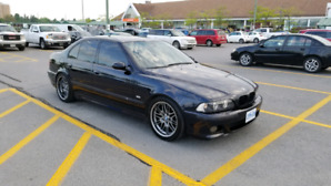 2001 BMW M5 e39 in great condition.