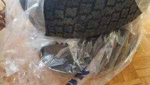 Winter Tires  with rims for sale for a Yaris Sedan 2010