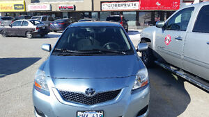 2009 Toyota Yaris Sedan with remoter starter included