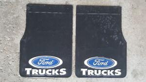 """Ford Truck Mud Flaps. Brand new. 14""""Tx10""""W. 20$ . F150 f250 f350"""