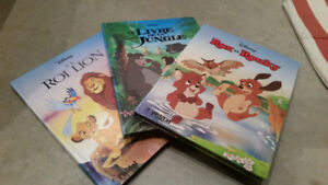 Three (3) Large FRENCH Hardcover Walt Disney Books Set for $15