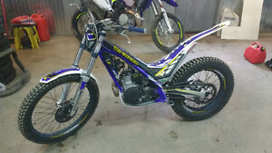 SHERCO ST 300 trials motorcycle