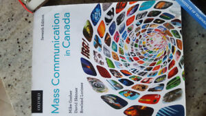 Mass communication in Canada, seventh edition