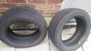 235/55/18 2 tire pirelli scorpion winter tires 200 or best offer