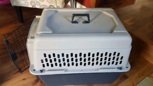 Dog kennel. Carrying crate