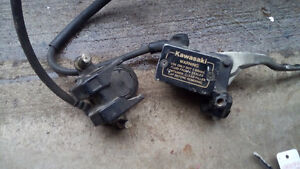 Caliper with hoses and everything as shown Kitchener / Waterloo Kitchener Area image 2
