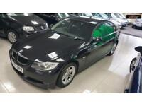 2007 BMW 3 SERIES 320D SE Black Manual Diesel 2007