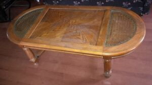Solid Oak Coffee Table Made in Canada