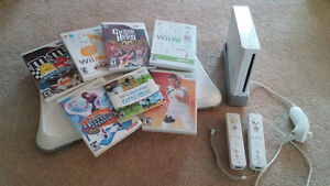 Wii game system and games
