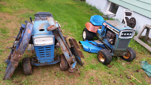 3 ford (Jacobson) mowers