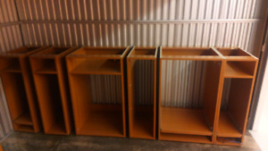 NEW CABINETS 25 Pcs. Free Delivery!! ($450)