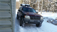 1999 Jeep Grand Cherokee limited SUV, Crossover 4 inch lift