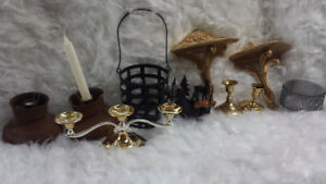 Candle Holders, Sconce Shelves, Shelf Brackets, $25