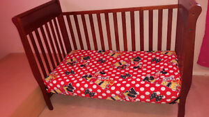 Crib and mattress - $200.00