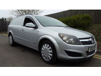 VAUXHALL ASTRA SPORTIVE GOOD CHEAP SILVER VAN WITH AIR CON 1.7CDTi 2011 96K