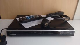 Toshiba DVD player with remote + manual and cable