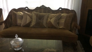 Living room couches/sofa in good condition