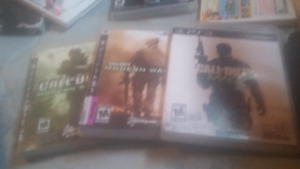 Call Of Duty Modern warfare 1, 2 and 3 for sale