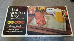 Vintage Cornwall Electric Hot Tray - Food Warmer