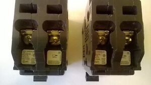 TWO MINI BREAKERS FOR A PANEL BOX