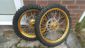 Motor Cross Tyres - Brand New Complete Wheels