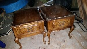 Coffee Table and Matching End Tables - French Provincial