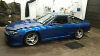 1994 Nissan 180sx S13 240sx with S15 front end conversion