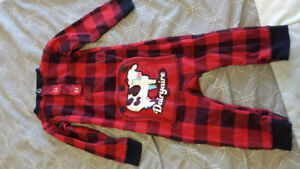 Cow's PJ's 12 month