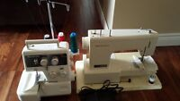 Kenmore sewing machine and serger