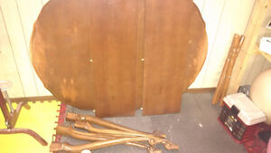 Solid Cherry wood table and chairs Cambridge Kitchener Area image 2