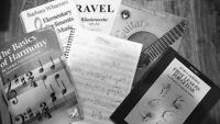 Music Lessons - Guitar Piano  Theory/Composition/History