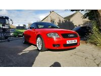 2006 (55) Audi TT 293bhp. Only 800 produced. Lots of manufactured extras
