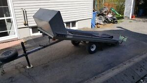 Tilt Snowmobile Trailer