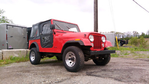 1986 JEEP CJ7 original paint