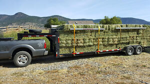 Grass/Alfalfa delivered and stacked
