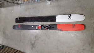 Telemark and Alpine Skis and Bindings