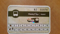 Thunder Bay Transit Card - CHEAP!!!!!