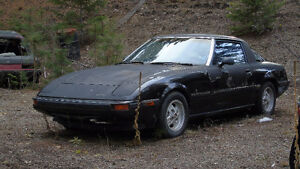 Mazda RX-7 with Rotary Wankel Engine $orBTC or trade