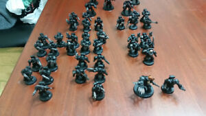 Warhammer 40k imperial space marines has chaos marines to trade