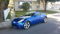 2007 Nissan 350Z Blue Coupe (2 door)