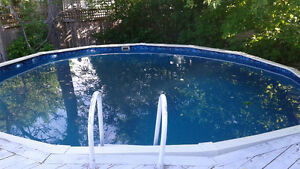 """18' X48"""" Fully Equipped Pool"""