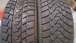 4 Studded winter tires 195/65/r15