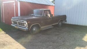 1973 Ford part out or will sell complete
