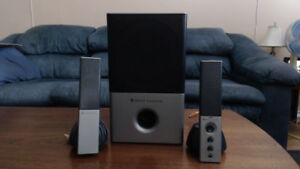 2 Sets Of Altec Lansing 2,1 Speaker Systems $40ea or $70 For Two