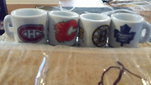 Mini NHL Ceramic Mugs
