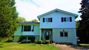 Fully updated four level side split in a prime Rothesay location