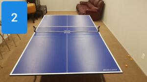 Table tennis, ping pong table