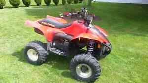 400cc 2 stroke 4x4 polaris atv